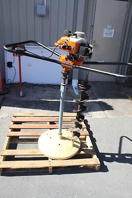 Stihl 4308 Petrol Two 2 Man Earth Post Hole Borer Digger w 140mm Auger *Rattles*