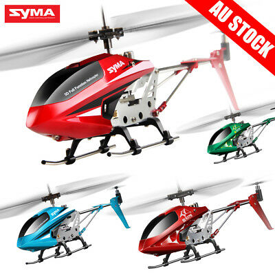 Syma S107 3.5Ch Infrared RC Helicopter Durable Gyro Copter Children's Day Gift