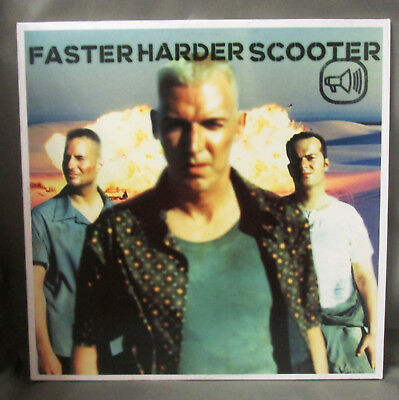 "SCOOTER - Faster Harder Scooter 12"" Vinyl"