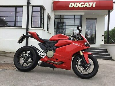 Ducati Panigale 1299 2017 Red