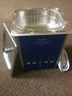 Eumax 1.3 Litre Ultrasonic Cleaner With Digital Timer And Heating Control - New