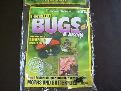 National Geographic Real-life Bugs & Insects magazine Issue 92