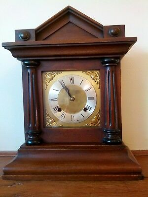 Antique American ansonia in excellent working order in mahogany.
