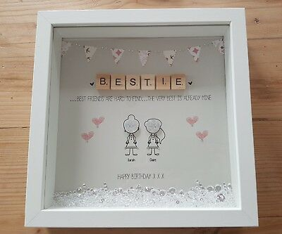 PERSONALISED FRIENDSHIP BEST Friend Birthday Gift Thank You, Box ...