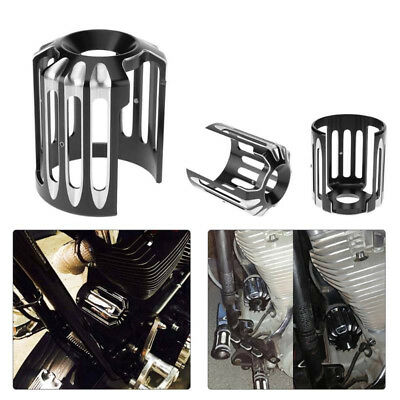 Deep Cut Aluminum Motorcycle Oil Filter Grid Cover Protect for Harley All Models