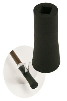 Black Rubber Ferrule for Seat Sticks