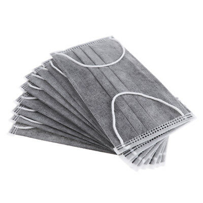 10pcs Flu Face Masks with Earloops Anti Virus and Pollution Protection