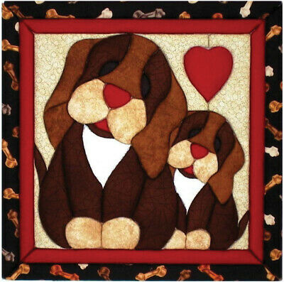 "Quilt Magic QM110 Puppy Love  Kit-12""X12"""