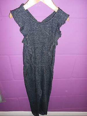 Next Girls Charcoal Jumpsuit/playsuit (4-5 Years)