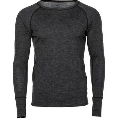 Outrak Merino Long Sleeve Top - Mens / Char Marle