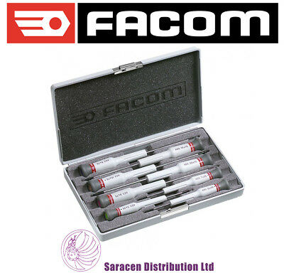 Facom Micro-Tech 8-Piece Precision Screwdriver Set Torx, T5 - T20 - Aex.j2