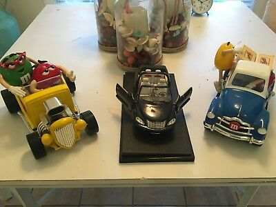 M&M Dispenser Collectibles with PT Cruiser