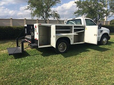 2008 Ford F350 F450 Reg Cab,gas Engine,government Owned Service Utility Truck