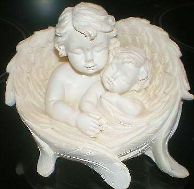 Latex Craft Mould To Make Cherub & Baby Ornament Reusable Art & Crafts Hobby
