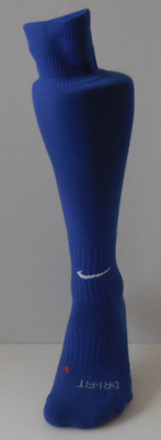 Nike Classic III Cushioned Soccer Socks Royal/White Youth Size Small 3-5Y New