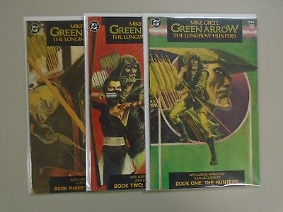 Green Arrow The Longbow Hunters (1987), Set:#1-3, 6.0 - 1987