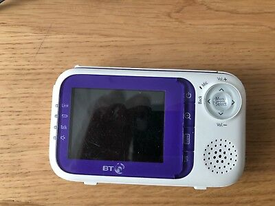 bt 1000 baby monitor parent unit only ( GRADE C )