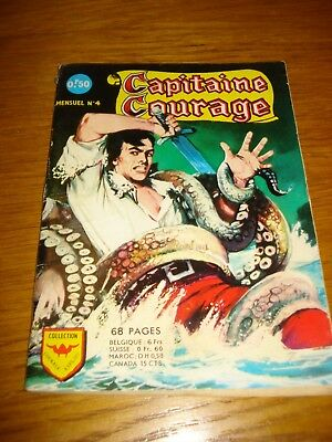 Capitaine Courage N°4 Aredit 1967