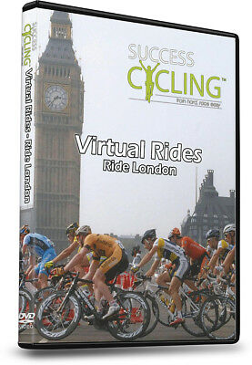 Virtual Rides - Ride London Turbo Training DVD for Indoor Cycling