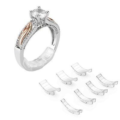 Invisible Ring Size Adjuster for Loose Rings – Ring Guard, Ring Sizer, 7 ...