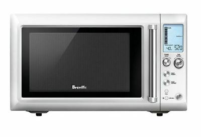 NEW Breville BMO625 Quick Touch Compact Microwave Silver