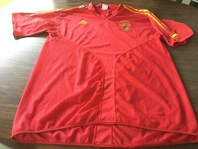 df127d532 ADIDAS SPAIN SOCCER Football Futbol Jersey Shirt Men s XL -  15.00 ...