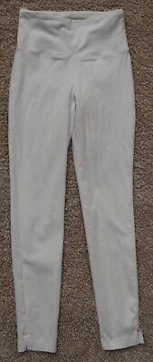 Lysse 6174 Women's Size S White Ankle Pants Shaping Leggings Tummy Control