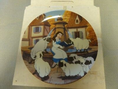 Knowles Disney Beauty And The Beast Collector Plate
