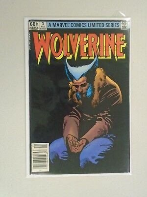 """Wolverine (Limited Series) #3, N.S 7.5, Stamped """"Not To Be Sold""""  (1982)"""