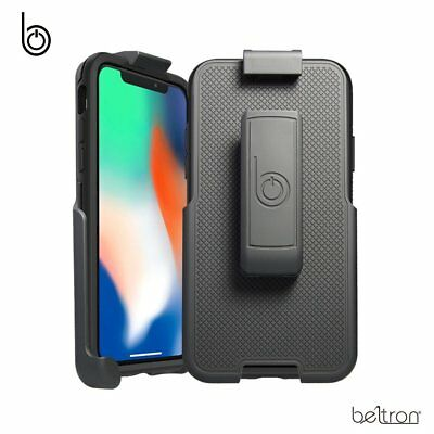 separation shoes c3073 b4b96 BELT CLIP HOLSTER For iPhone X LifeProof FRE Case Beltron w/ Built-In  Kickstand