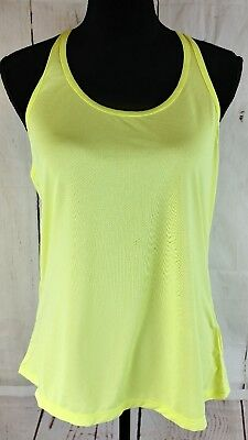 59aeffa53131e2 Z by Zella Tank Top Womens Size Large Neon Yellow Racer Back Yoga Athletic  Sport