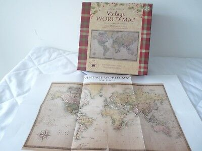 Laura ashley world map wall clock brand new 2250 picclick uk laura ashley jigsaw puzzle world map carte du monde 1000 pieces gumiabroncs Gallery
