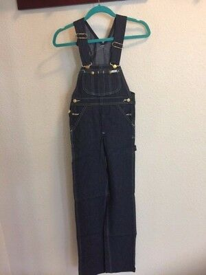 VTG  Lee Youth Authentic Fashion Fit Dungarees & Overalls Denim Jeans SZ 24 X32