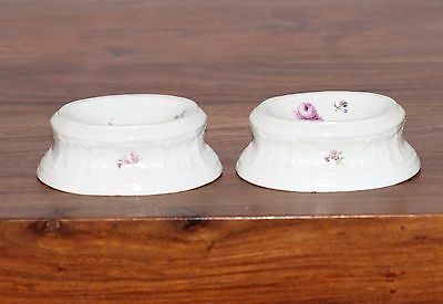 Pair of MEISSEN salt dish 18 th century RARE 1740 year