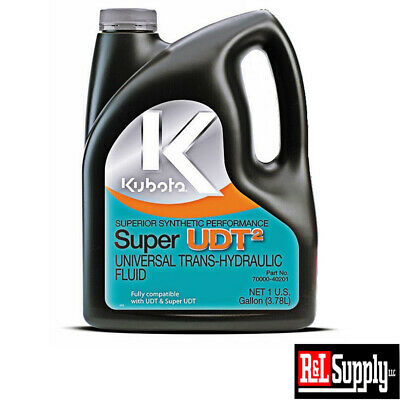 New Genuine Kubota Tractor 1 Gallon Udt2 Transmission Hydraulic Oil 70000-40201