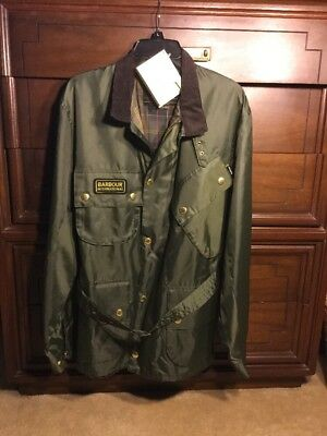 Mens Barbour International Motorcycle Clothing Inc. XL