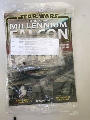 DEAGOSTINI STAR WARS BUILD THE MILLENNIUM FALCON Issue 22 - LOWER HULL