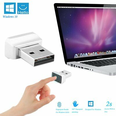 Smart ID USB Fingerprint Fingerabdruck Scanner Sensor Leser für Windows 10 Hello