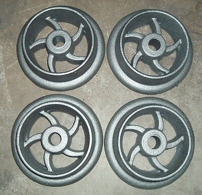 Cast Iron Ore Cart Wheel Set 8 Inch For Large Model Mine Car Mining