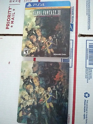 Final Fantasy XII The Zodiac Age Limited SteelBook Edition PS4 USA NEAR MINT
