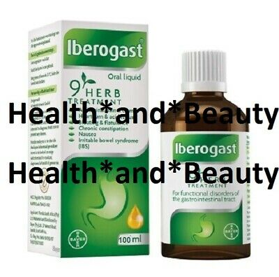 IBEROGAST 100ml GASTRIC ABDOMINAL PAIN HEARTBURN fast and free DELIVERY UK