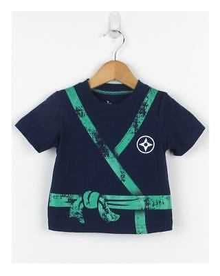 NEW Circo Boy's Baby-Toddler Graphic T-Shirt Short Sleeve Blue Tee Size 4T