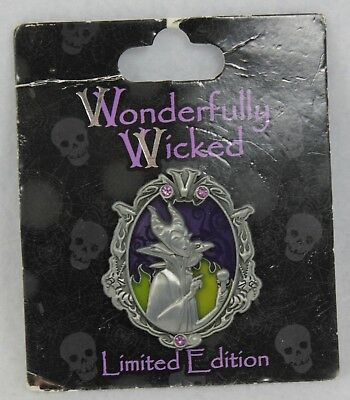 Disney Wonderfully Wicked Collection LE 3000 Pin Maleficent Sleeping Beauty