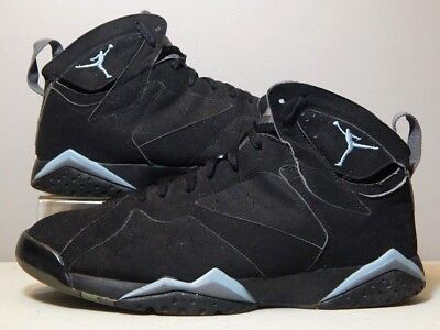 30987e30b7e546 Nike Shoes - 2006 Jordan 7 VII Chambray - Blue Graphite Grey Black - Size 14