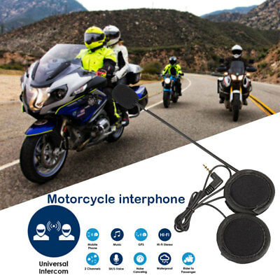 Rider Helmet Intercom Headset Durable Replace with Mic Interphone