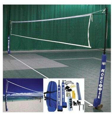 New Gared Mongoose Wireless Volleyball System Adjustable Indoor Outdoor