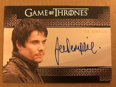 Game Of Thrones - Season 7: Valyrian Steel Autograph Card: Joe Dempsie