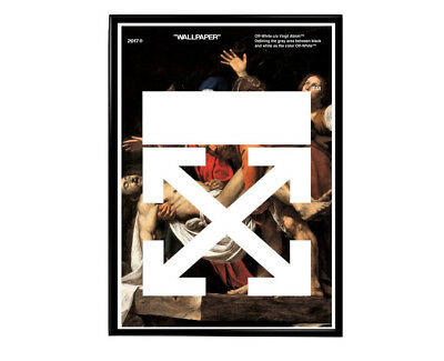 Off White Classic Art Posters Hypebeast Poster Modern Pop Art Poster Graffiti