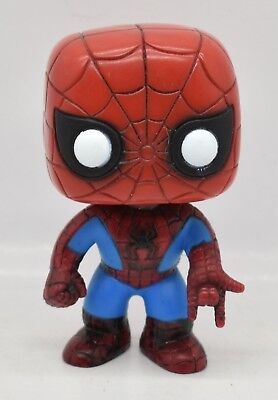 "Marvel Universe Spider-Man Vinyl Bobblehead 4"" Marvel Figure Funko Pop 2011"