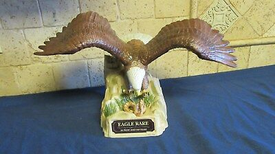 Eagle Rare Kentucky Straight Bourbon Whiskey Eagle & Rattle Snake Decanter 1984